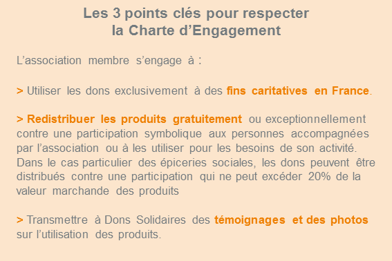 Charte d'engagenment